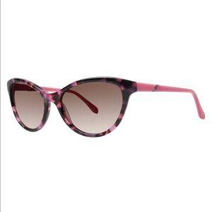 Lilly Pulitzer Meridiene Pink Tortoise Sunglasses